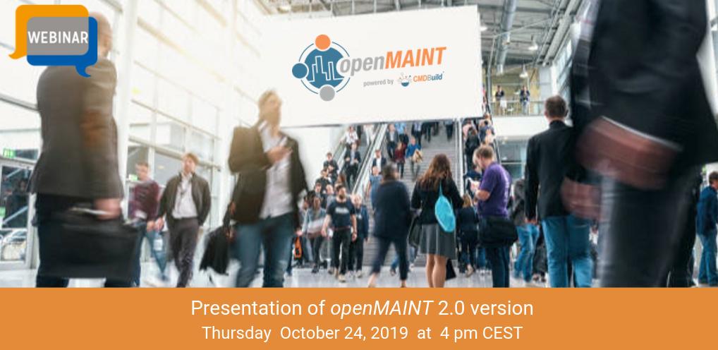 Webinar openMAINT 2_0